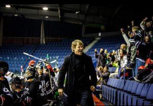 """M. Kieras su ,,Hockey Punks"""" sirgaliais"""