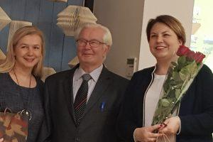 R. Žilinskienė, A. Sodonis ir G. Šapokaitė