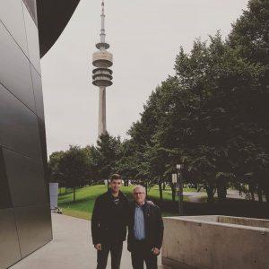 Su treneriu Bernd Haake