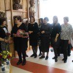 L. Matkevičienę sveikino buvusios kolegės iš Elektrėnų ligoninės