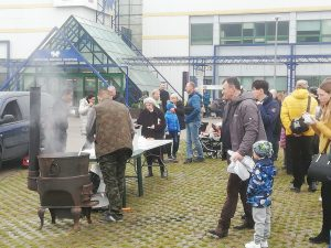 Litexpo parodoje žuviene pavaišinta pustrečio šimto žmonių
