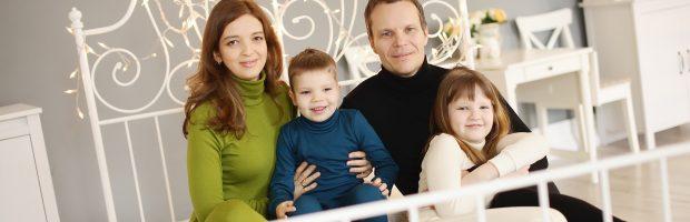 Darni Stanevičių šeima