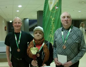 Šaškininkai Anatolijus Šugajevas, Vlada Kybarienė, Juozas Žydelis