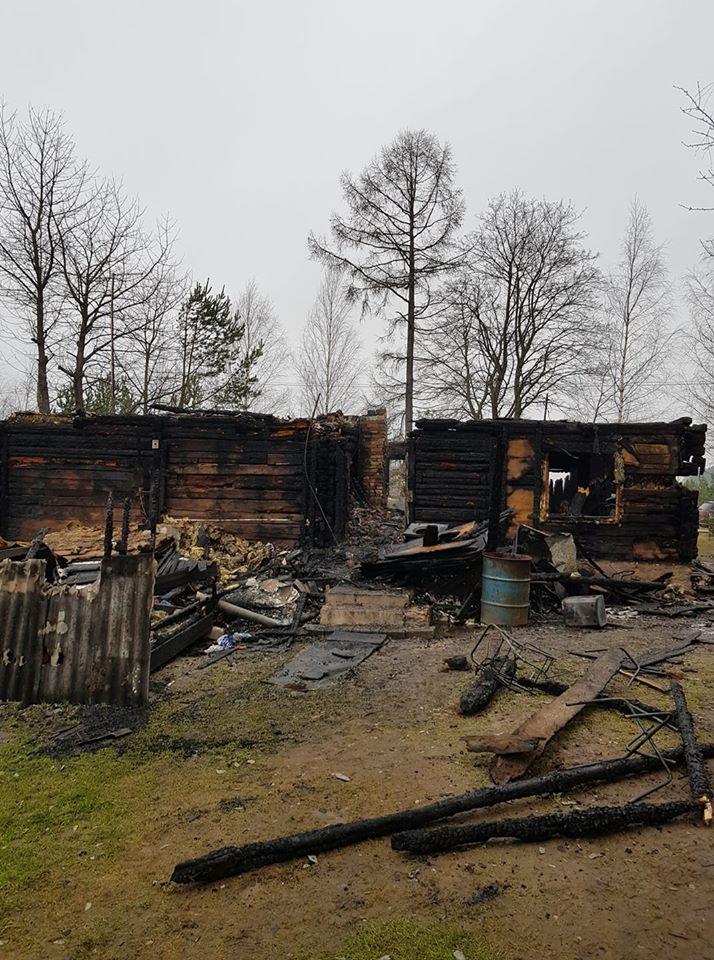 Šeima tikisi atstatyti sprogimo sunaikintą namą
