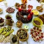 Ant stalo advento valgiai