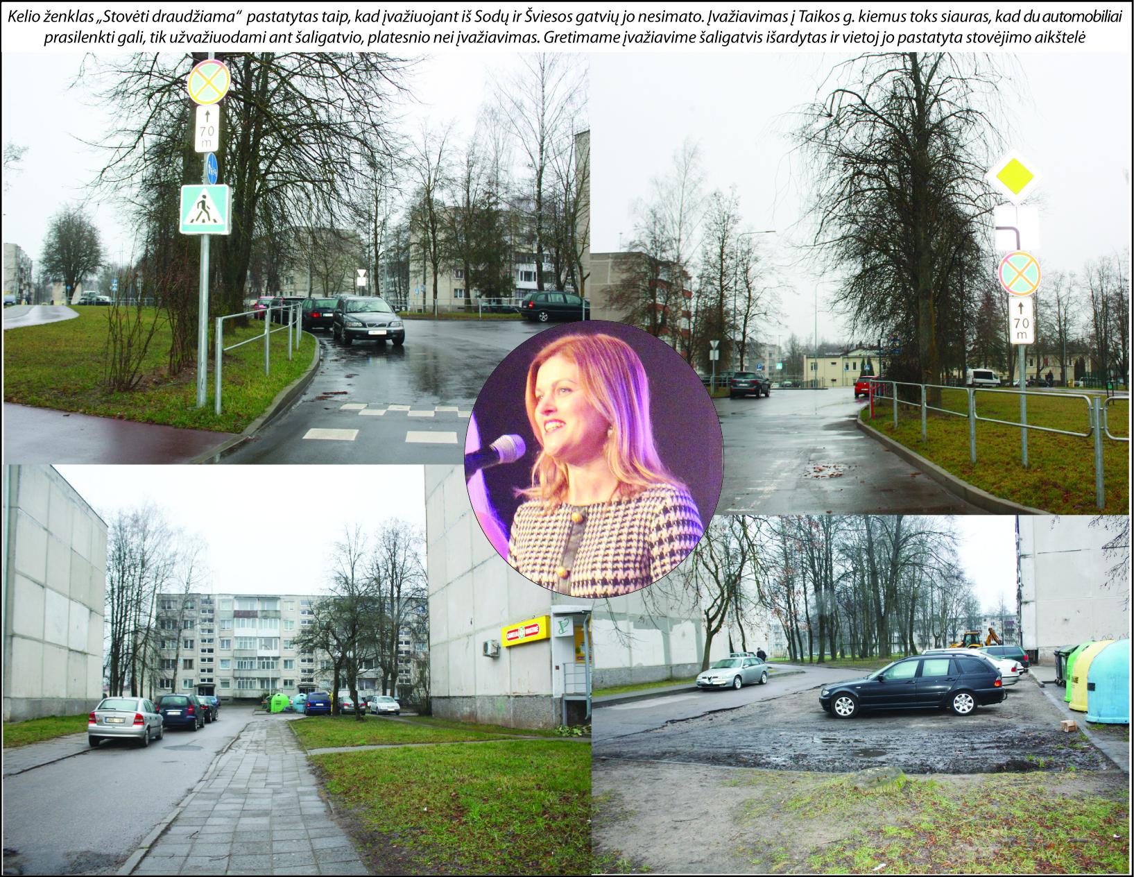 Kelio ženklų Elektrėnuose statymo ypatumai: uždrausti, (ne)bausti