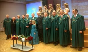 Su Santarvės fondo valdybos nariais ir apdovanojimo ceremonijos dalyvėmis