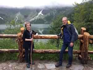 Su žmona Vyginte Zakopanėje