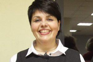 Finansų ir strateginio planavimo skyriaus vedėja  Jekaterina Goličenko