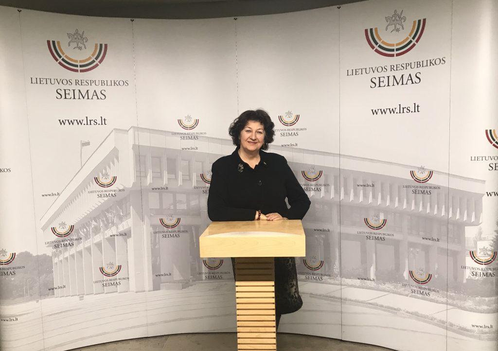 Seimo narė Laimutė Matkevičienė: didžiausias vaistas nuo koronaviruso yra ramybė