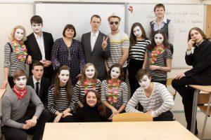 Tarptautinė teatro diena mokykloje