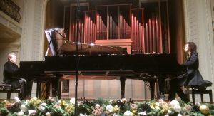 Rūtos Rikterės ir Zbignevo Ibelhaupto koncertas Lietuvos filharmonijoje dueto kūrybinės veiklos 30-ečiui paminėti