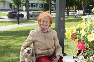 Ponia Irena džiaugiasi, kad po ilgos pertraukos į aikštes grįžta renginiai