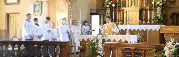 Šv. Mišias aukojo Marius Talutis