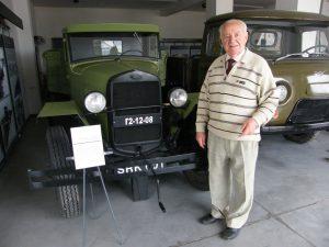 Straipsnio autorius – kelininkas veteranas Juozas Stepankevičius