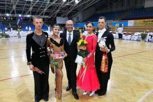 Varžybose Vengrijoje su R. Urbonavičium, J. Povilaityte, I. Kučinskaite ir E. Baltaragiu