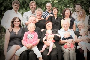 Mekų šeima 2016 m.