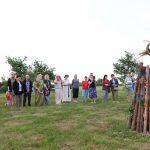Rasų šventės apeigos baigtos įkūrus didįjį laužą