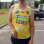 Nuolatinis bėgimo dalyvis Saulius Bauras 10 km distanciją įveikė per valandą