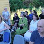 """Patirtimi apie darbą su negalią turinčiais žmonėmis dalinasi Elektrėnų žmonių bendrijos """"Spindulys"""" vadovė Marija Kazbarienė"""
