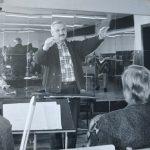 LRT lengvosios muzikos orkestro antrojo dirigento pareigas J. Cechanovičius pradėjo eiti 1985 m.
