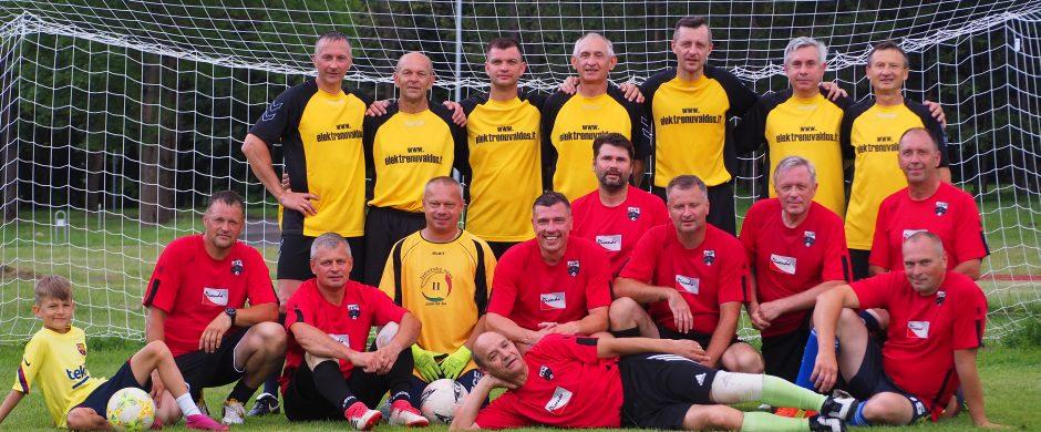 Veteranų futbolo varžybos, skirtos Elektrėnų miesto 60-čiui paminėti