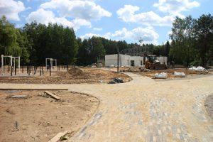 """Buvusiame """"Vaikų pasaulyje sparčiai vyksta naujų poilsio erdvių statybos"""