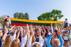 Rugsėjo 1-osios šventė Vievio Jurgio Milančiaus pradinėje mokykloje 2019 m.