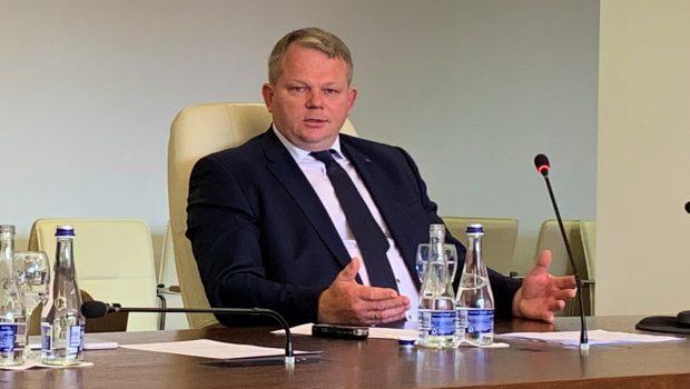 Žemės ūkio ministras A. Palionis