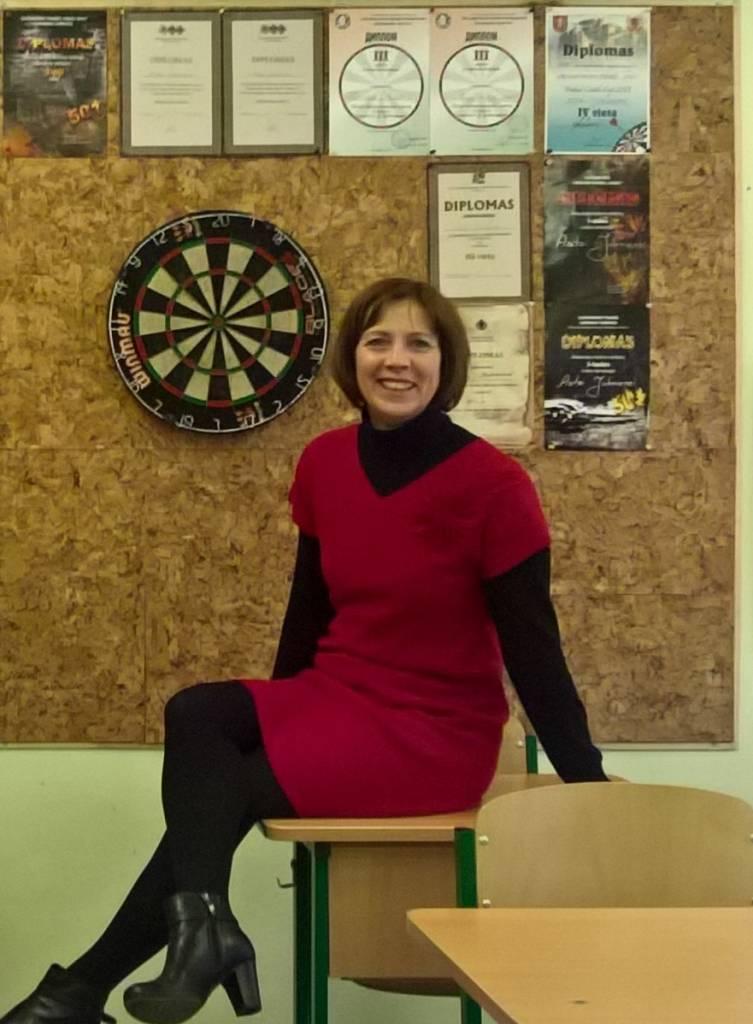 Anglų kalbos mokytoja ir smiginio čempionė Asta Juknienė: gyvenimas yra labai įdomus