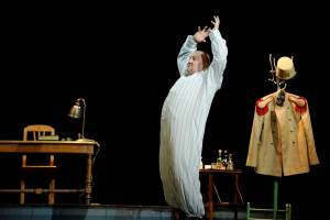 Irmantas Jankaitis vaidina teatre Martyno Aleksos nuotrauka