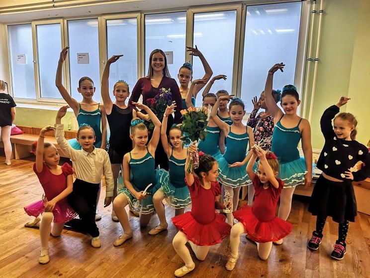 Baleto mokytoja Milda Šervenina  – apie tai, kaip rasti raktą į vaiko širdį