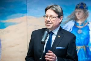 Trakų-Vievio apygardos kandidatas Stasys Šedbaras. Asmeninio archyvo nuotrauka