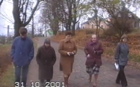 Prisiminimus apie žydų gyvenimą išsaugojo vaizdo įraše