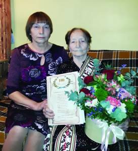 Jubiliate su dukra Jane Makauskiene