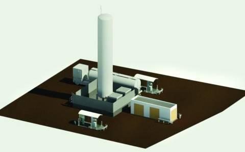 Lazdėnuose bus statoma naujos kartos dujų kolonėlė