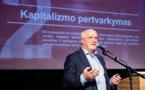 Juozas Olekas: norime sveikos Europos ateities, kur visi dirbantys galėtų gyventi padorų gyvenimą