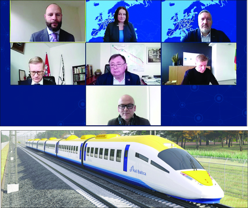 """Rail Baltica"" kelionės per Elektrėnus"