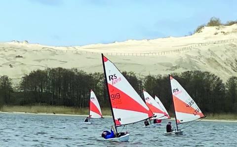 Nidoje vyko Rs sailing jachtų čempionatas ir meistriškumo klinika