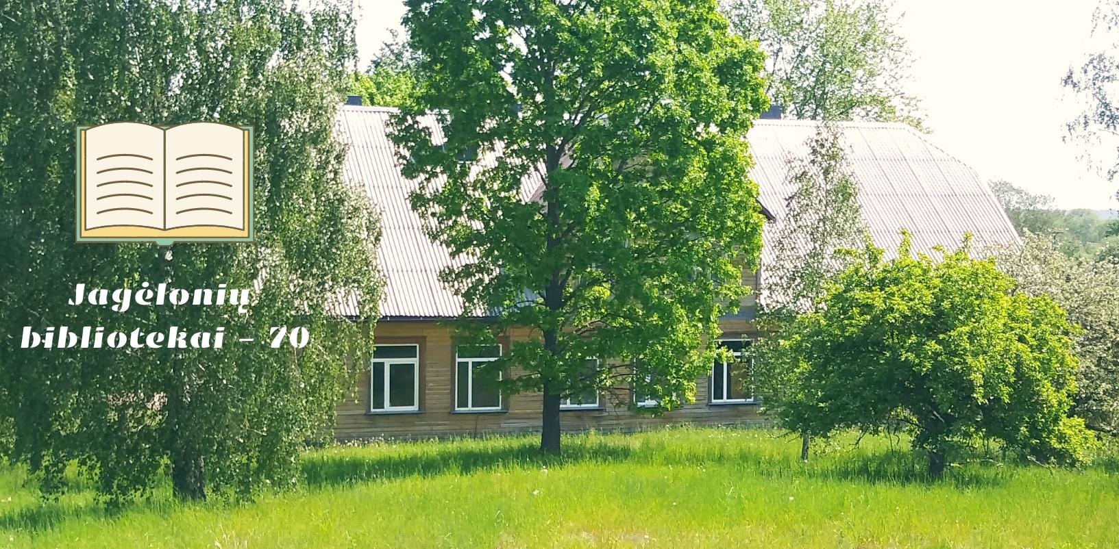 Jagėlonių bibliotekai – 70