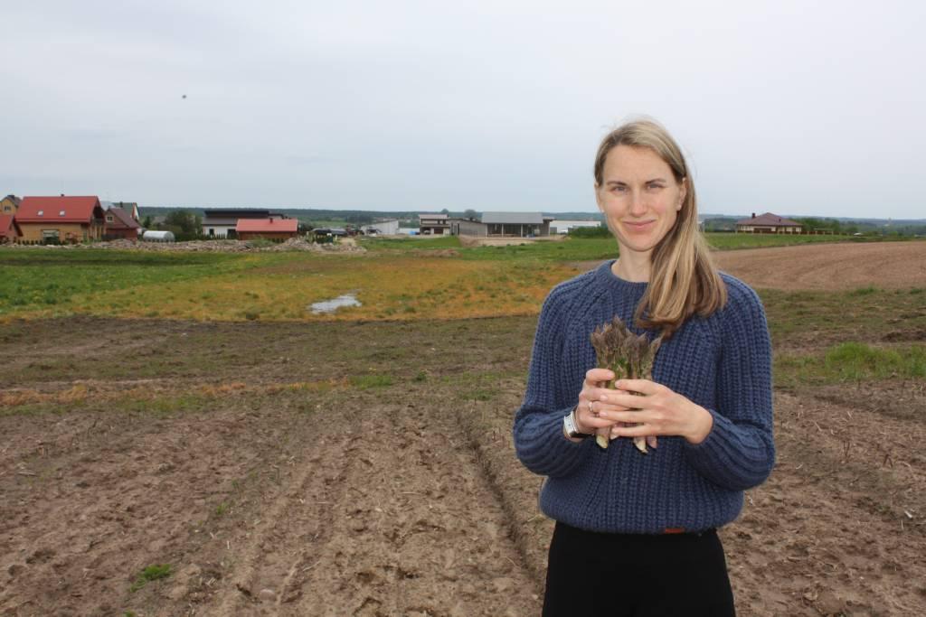 Ūkininkė Simona Sinicienė: smidrai – vitaminų bomba