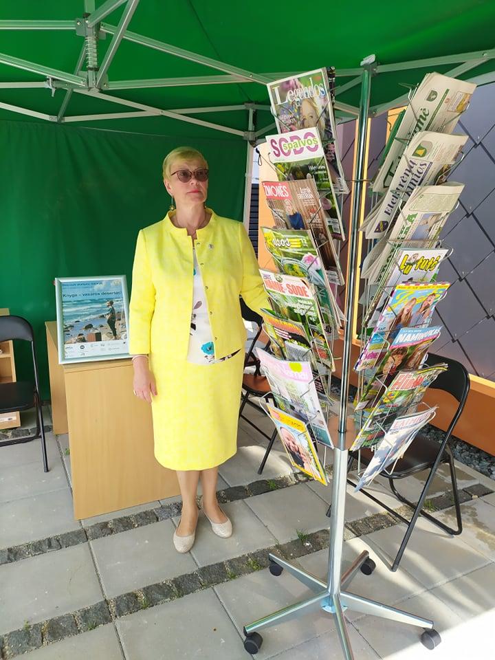 Darbas bibliotekoje – nauji iššūkiai ir galimybės Interviu su naująja ESVB Vievio miesto filialo vedėja Irena Senuliene