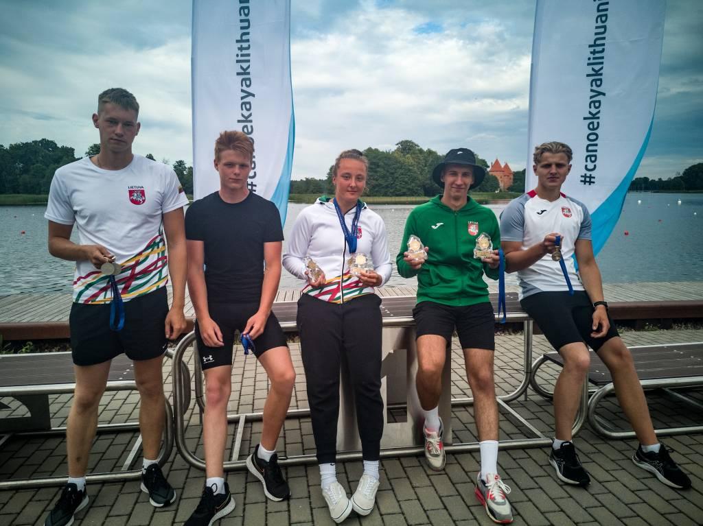 Medalių gausa Lietuvos baidarių ir kanojų irklavimo čempionate