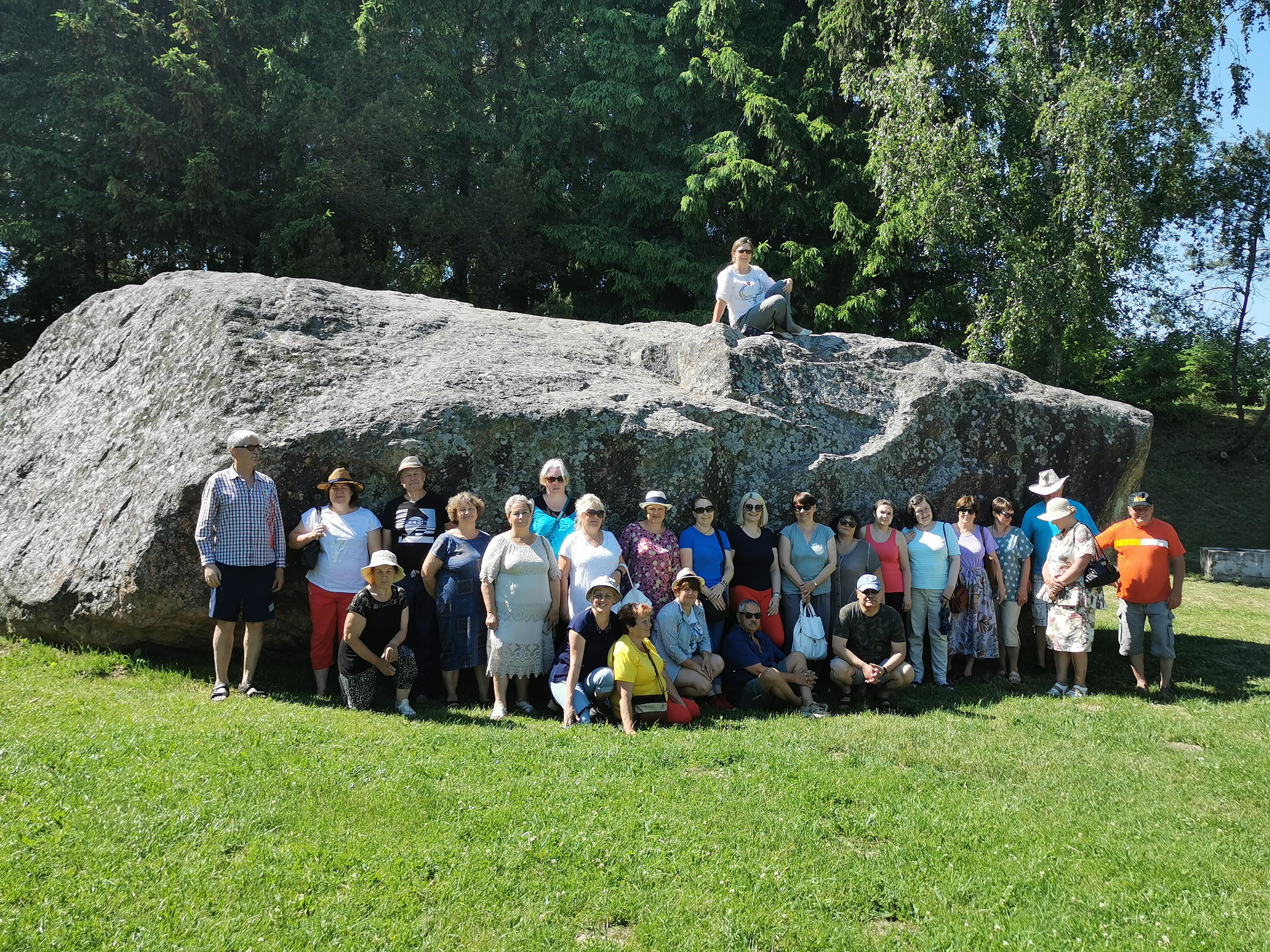Vievio gimnazijos mokytojų edukacinė ekskursija į Skuodo rajoną