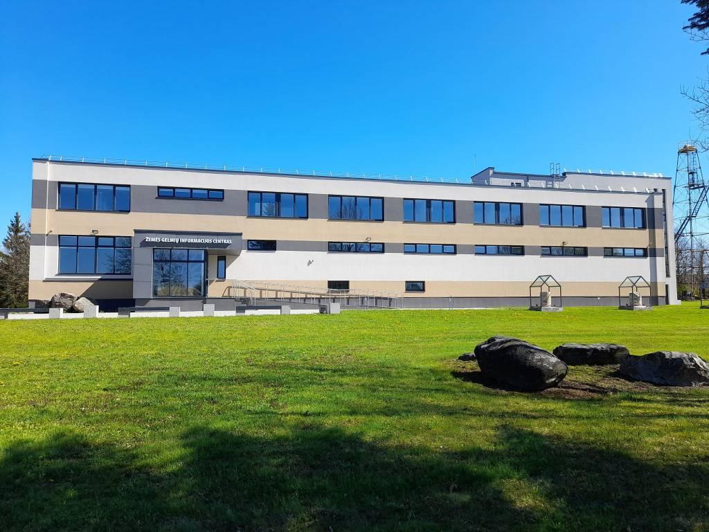 Baigtas Lietuvos geologijos tarnybos Žemės gelmių informacijos centro pastato, esančio Vievyje, rekonstrukcijos projektas