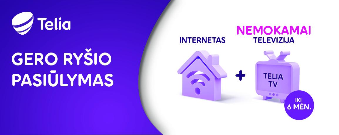 Stiprus internetas svarbus kaip geras imunitetas