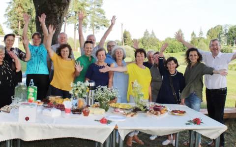 Vasaros piknikas Kazokiškėse