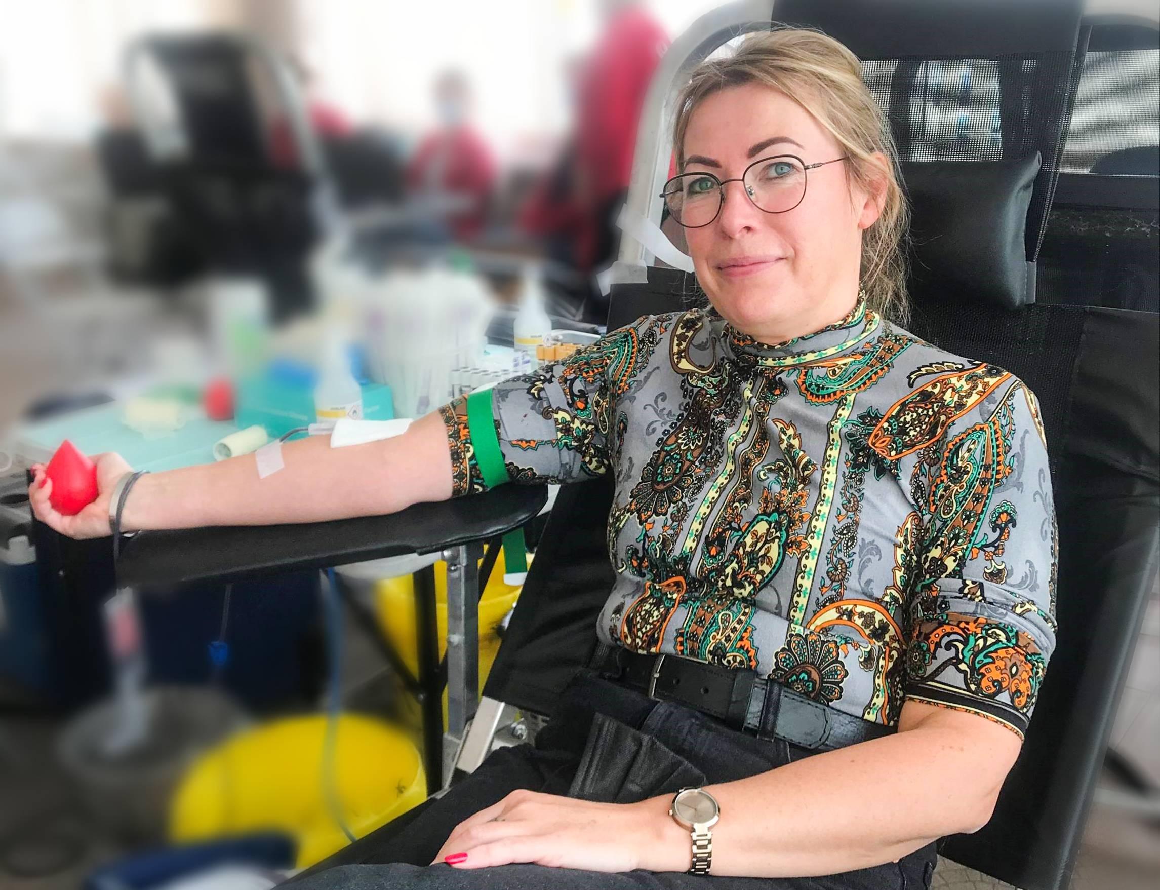 """""""Aviva Lietuva"""" vadovė A. Grabinskė: """"Pasirūpinkime, kad nelaimės atveju kraujo donoro ieškoti nereikėtų"""""""