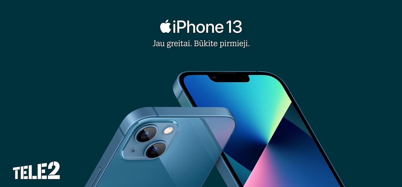 """PR """"iPhone 13"""" ir kitos """"Apple"""" naujienos: sužinokite pirmieji"""