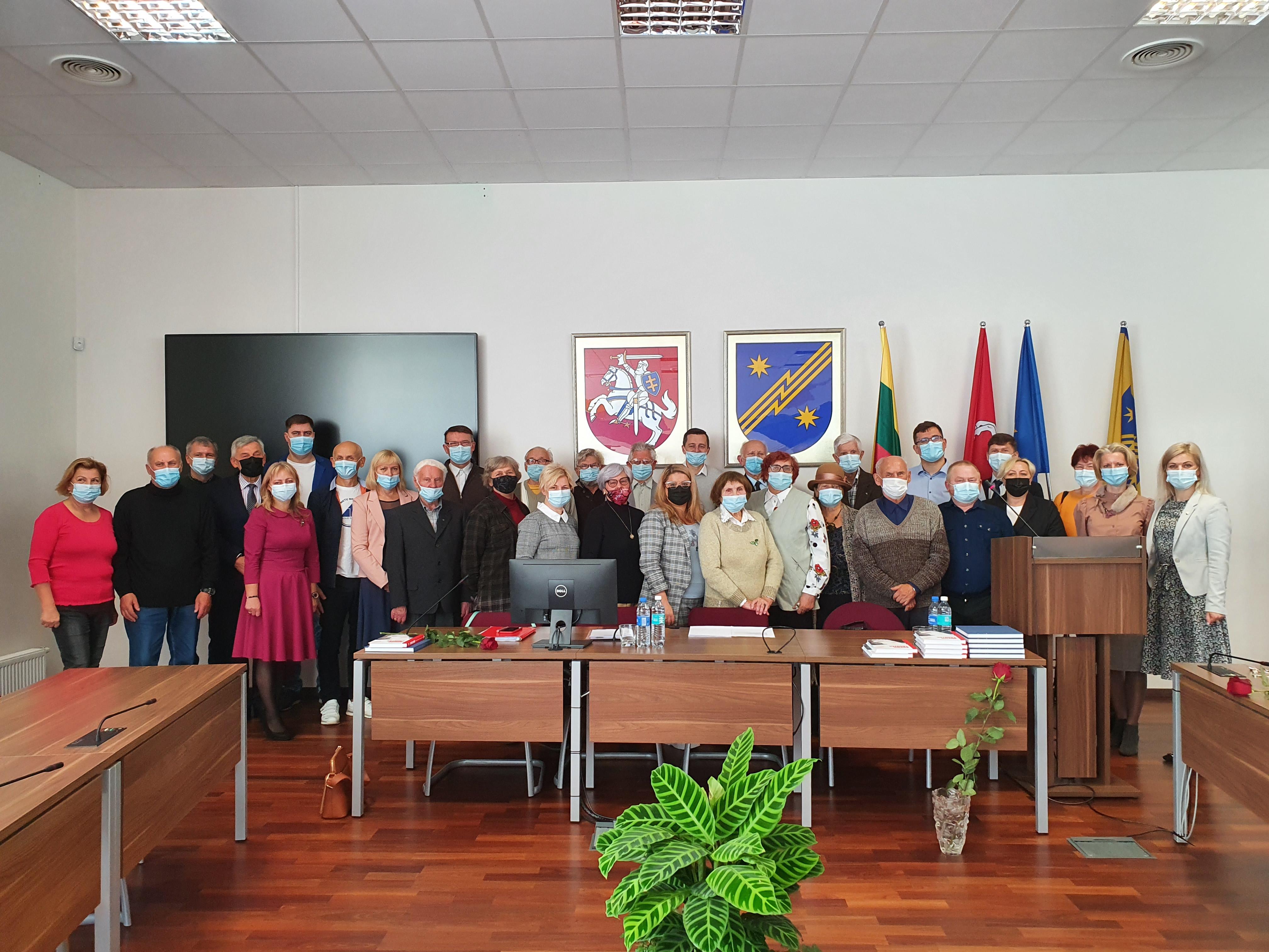 TS-LKD Elektrėnų skyriaus nariai aptarė politines aktualijas